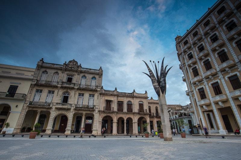Plaza Vieja, Havana