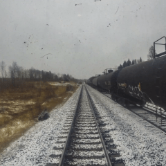 Creating a Time Lapse on the Via Rail Across Canada