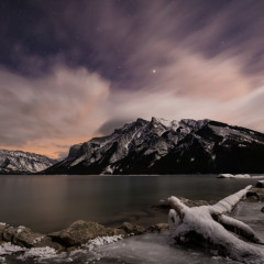A Night of Photography in Banff National Park