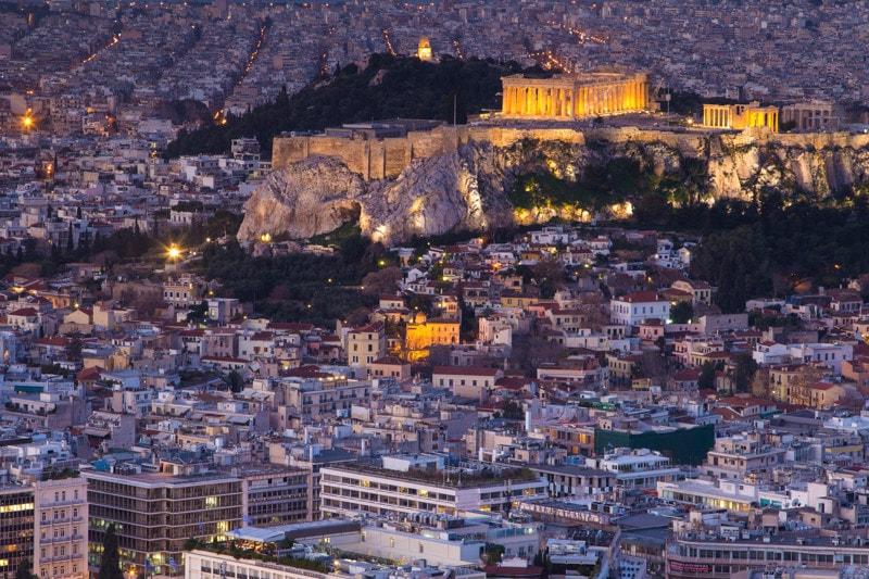 Mount Lycabettus, Athens, Greece