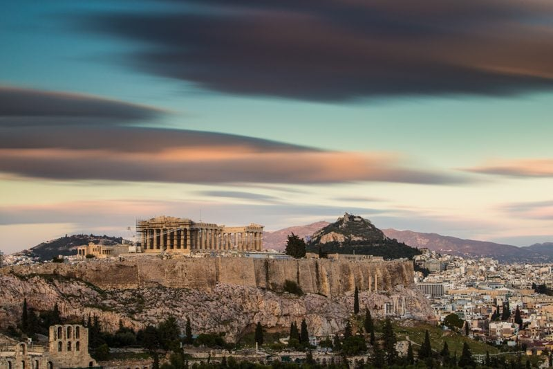 Filopappou Hill, Athens, Greece