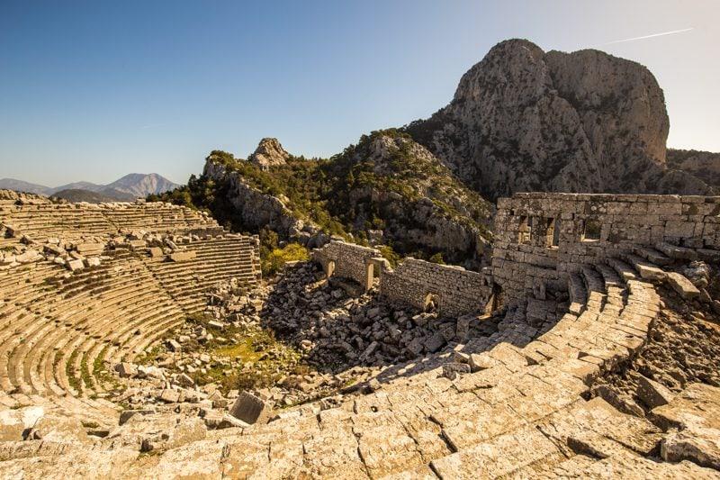 Ruins in Antalya