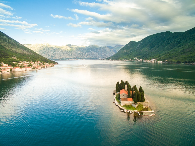 Kotor Drone Photo