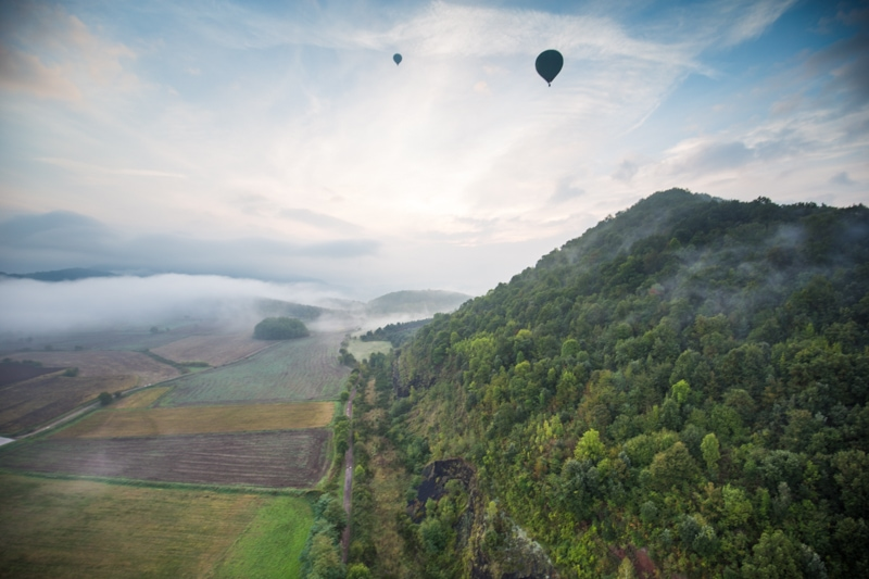 Hot Air Balloon, Costa Brava