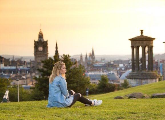 Best Spot for Sunset Photography in Edinburgh