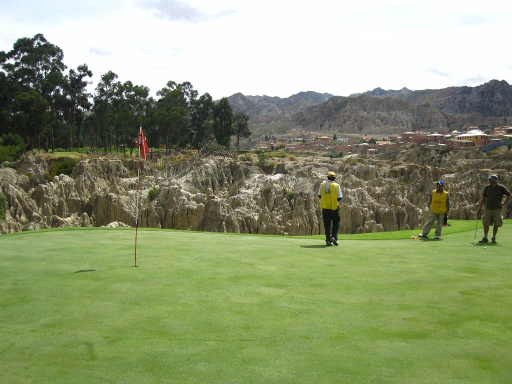 world's highest golf course