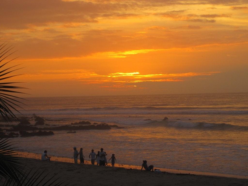 beach day, mancora, peru, south america
