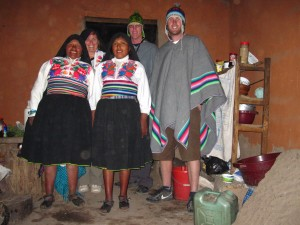 Lake Titicaca Homestay, family