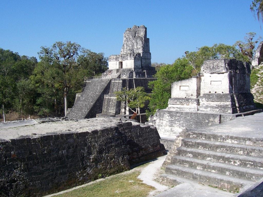 Tikal Ruins, Guatemala, Central America, pyramids