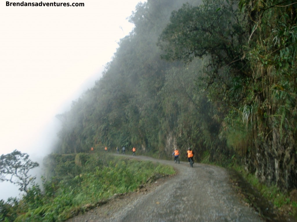 Death Road, Bolivia, cliffs