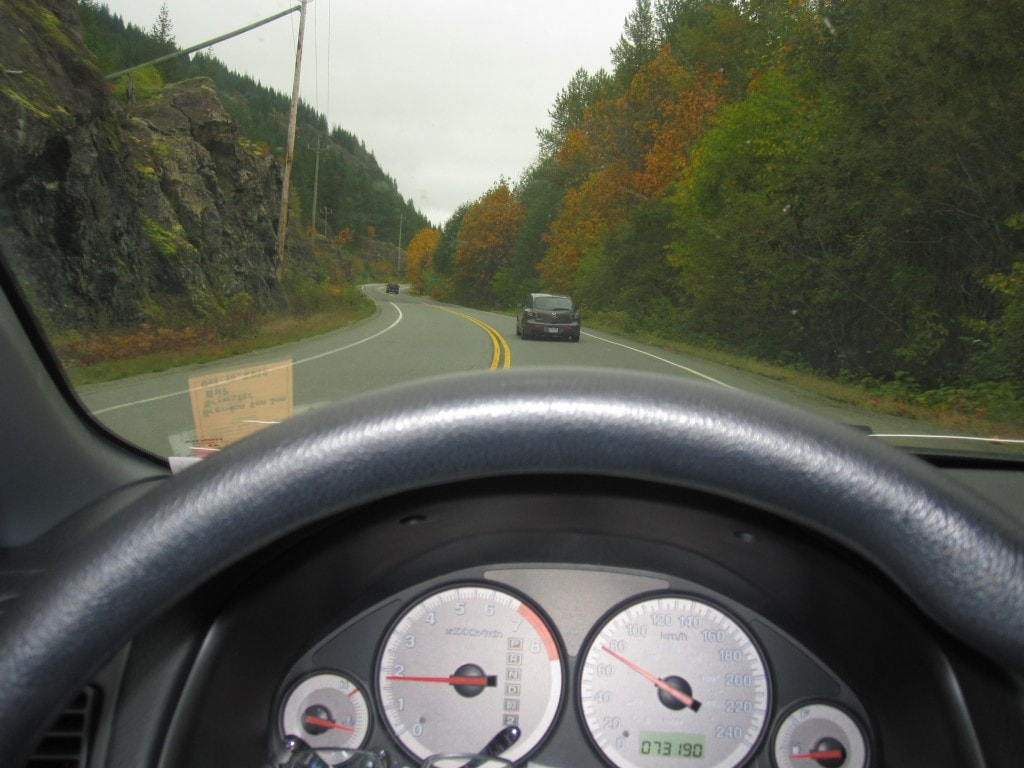 Driving to Tofino