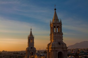 Arequipa Plaza Cathedral Photo