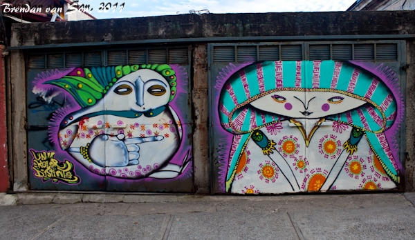 Valparaiso, Chile, South America, graffiti