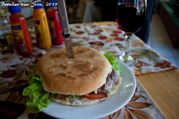 Churrasco Sandwich, chile