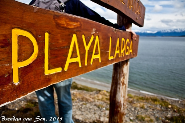 Playa Larga, Ushuaia, Argentina, southernmost city, patagonia