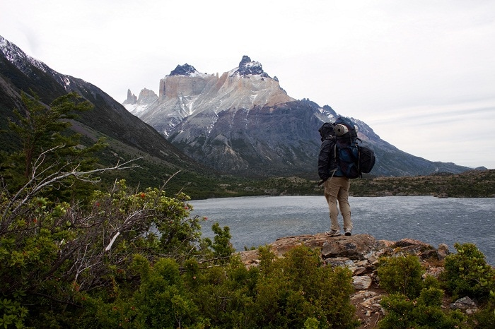 trekking Torres del Paine, hiking, chile