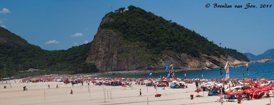 Famous Copacabana Beach