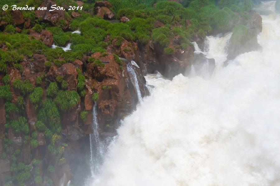 Iguazu Falls mist