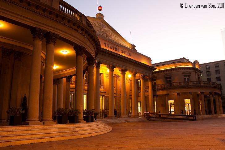Teatro Solis Montevideo Uruguay