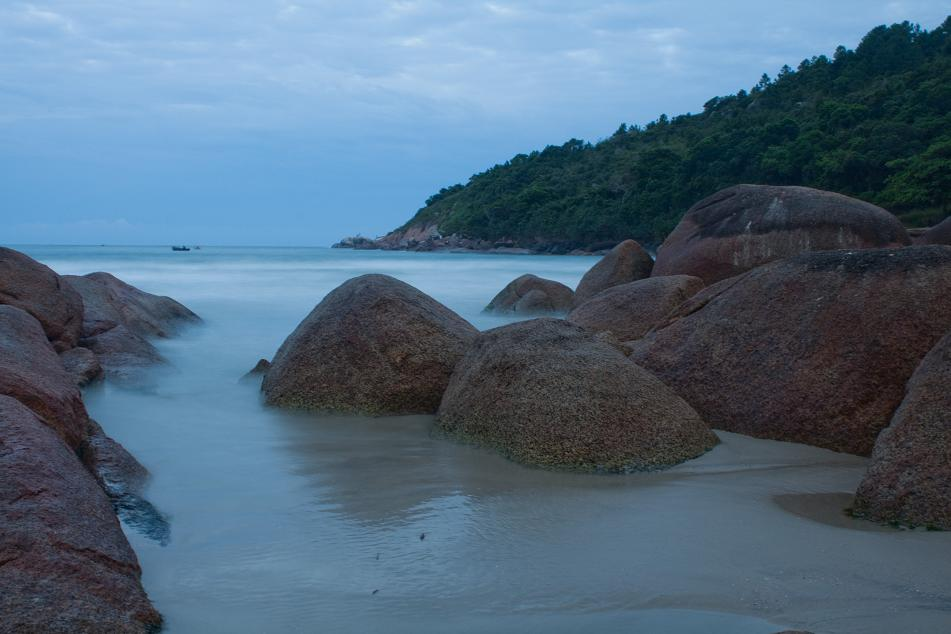 Florianopolis, Brazil, Barra beach