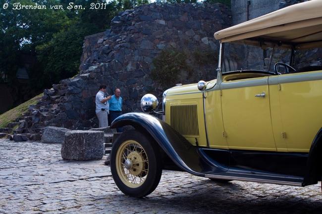 Colonia de Sacramento, Uruguay, car, old