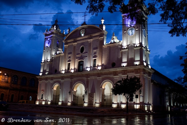 Asuncion, Paraguay, church, cathedral