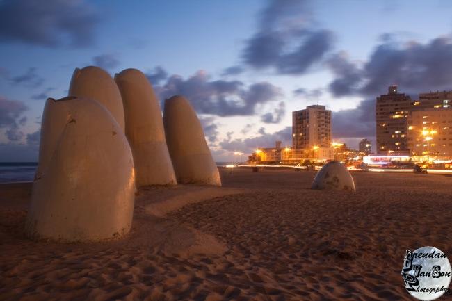 Punta del Este hand photo