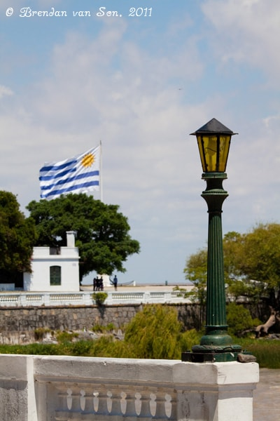 Colonia de Sacramento, Uruguay, flag