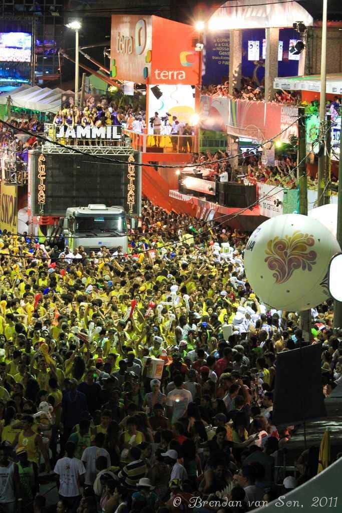 bloco, truck. carnival, brazil, salvador de bahia