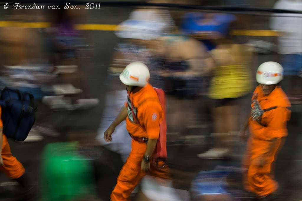 carnival, brazil, salvador de bahia, police