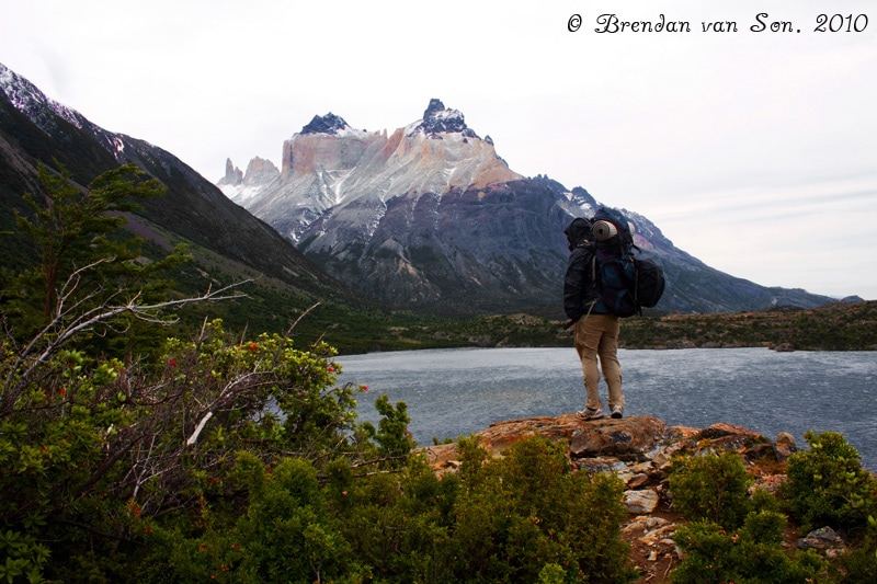 backpack, travel, backpacking, torres del paine