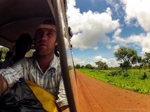 bus, travel, africa
