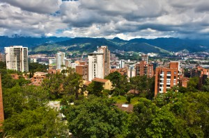 Medellin, Colombia, view