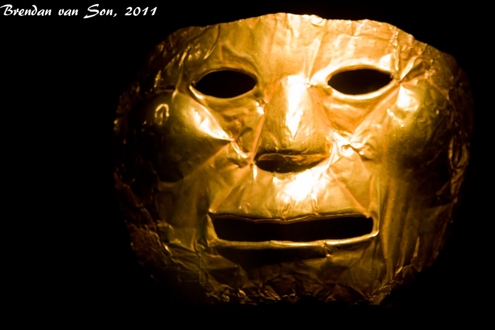 Ancient Golden Mask