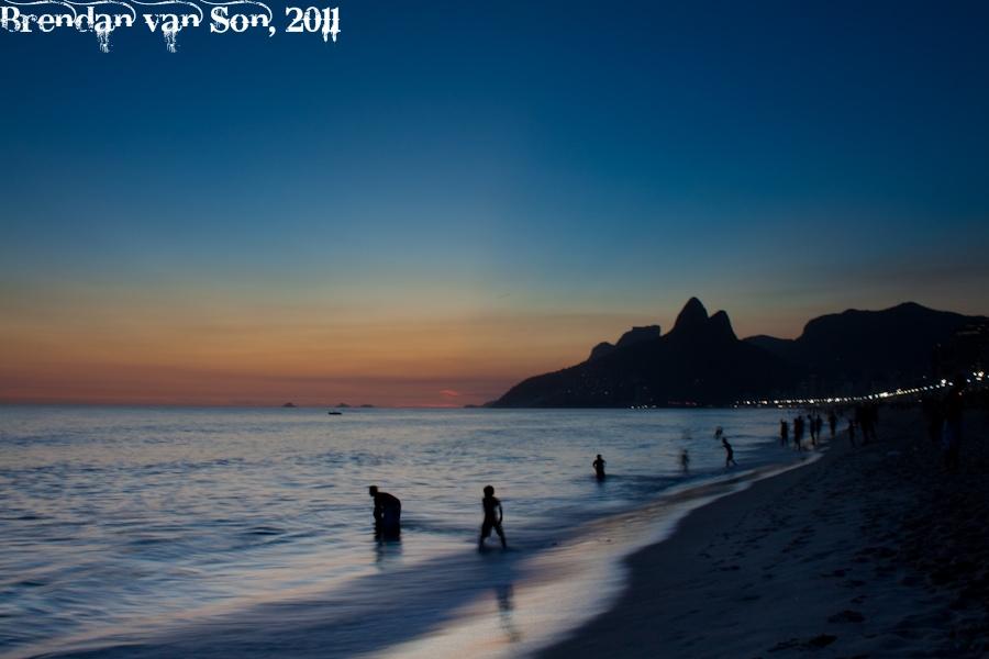 Ipanema Beach, Rio de Janerio