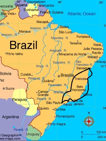 Cultural Brazil Travel Itinerary