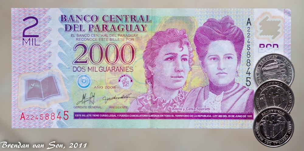 Paraguay Money