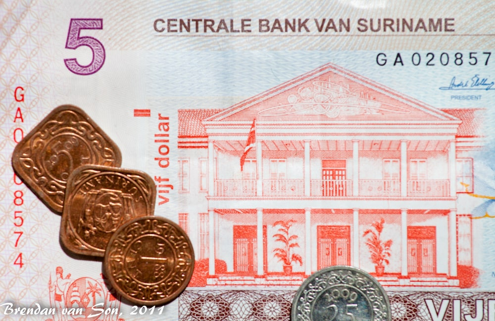 Suriname Money