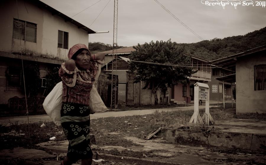 San Blas Woman
