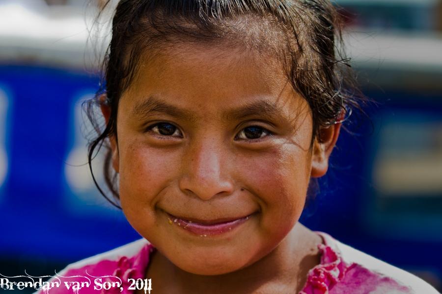 Young maya girl
