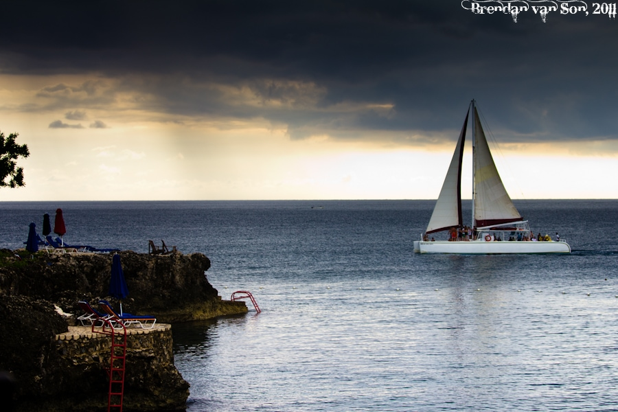 Rockhouse Hotel Sailboat