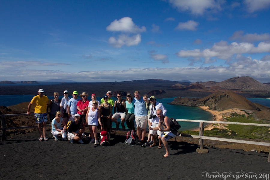 Gecko's Tour Group in the Galapagos