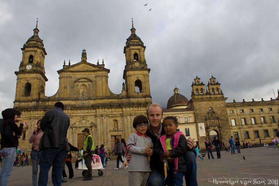 Brendan van Son in Bogota, Colombia