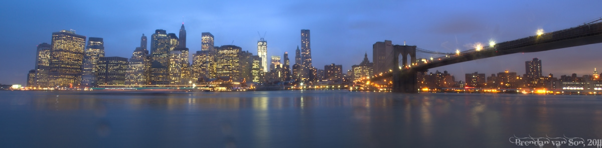The Manhattan Skyline, New York City, New York