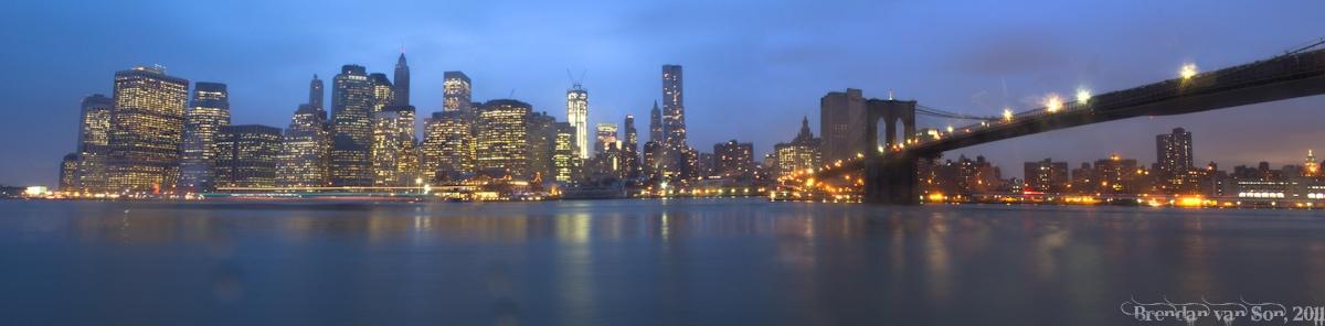 The Manhattan Skyline, New York City, New York