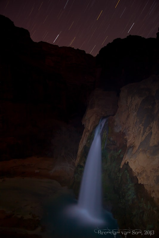 Havasu Falls Stars