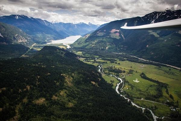 glider, pemberton soaring adventures, pemberton, British Columbia, canada