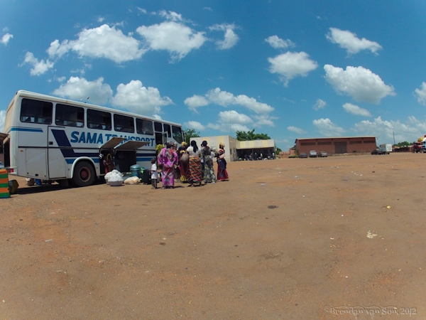 Cote d'Ivoire to Mali, bus, border, customs