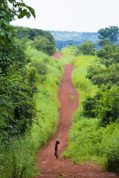 Man Cote d'Ivoire Africa