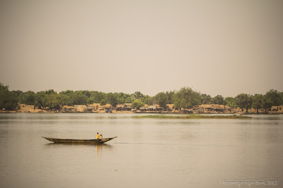 The Niger River, Mali, Africa